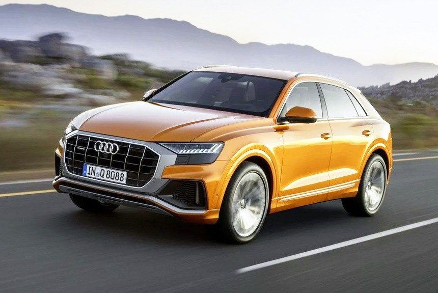 Новый Audi Q8