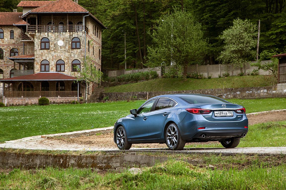 Mazda 6: Шпионские страсти на Балканах