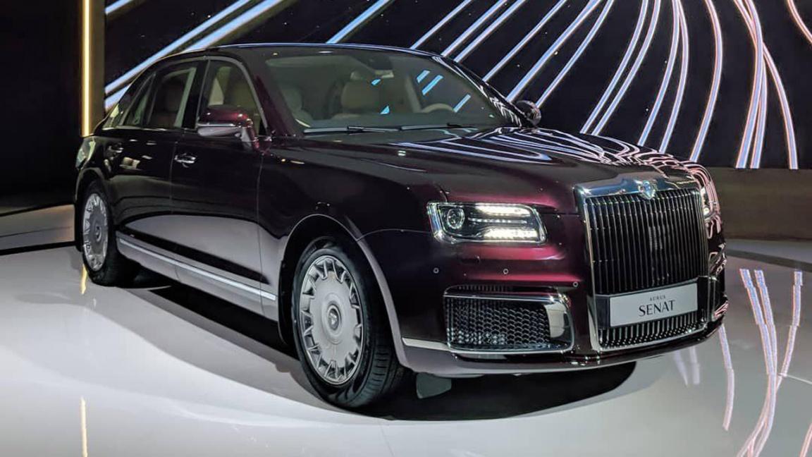 Российский бренд Aurus показал премиум седан Senat
