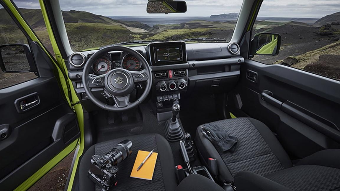 Подробности о новом Suzuki Jimny для России