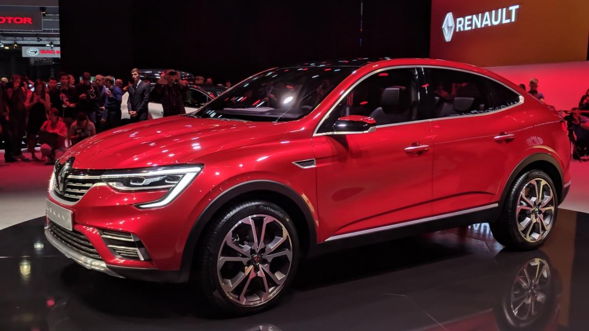 Кросс-купе Renault Arkana представили в Москве