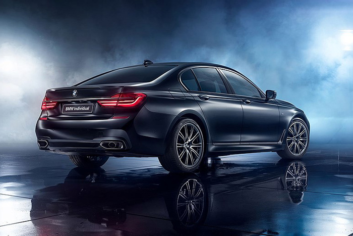 BMW 7 series edition Black Ice