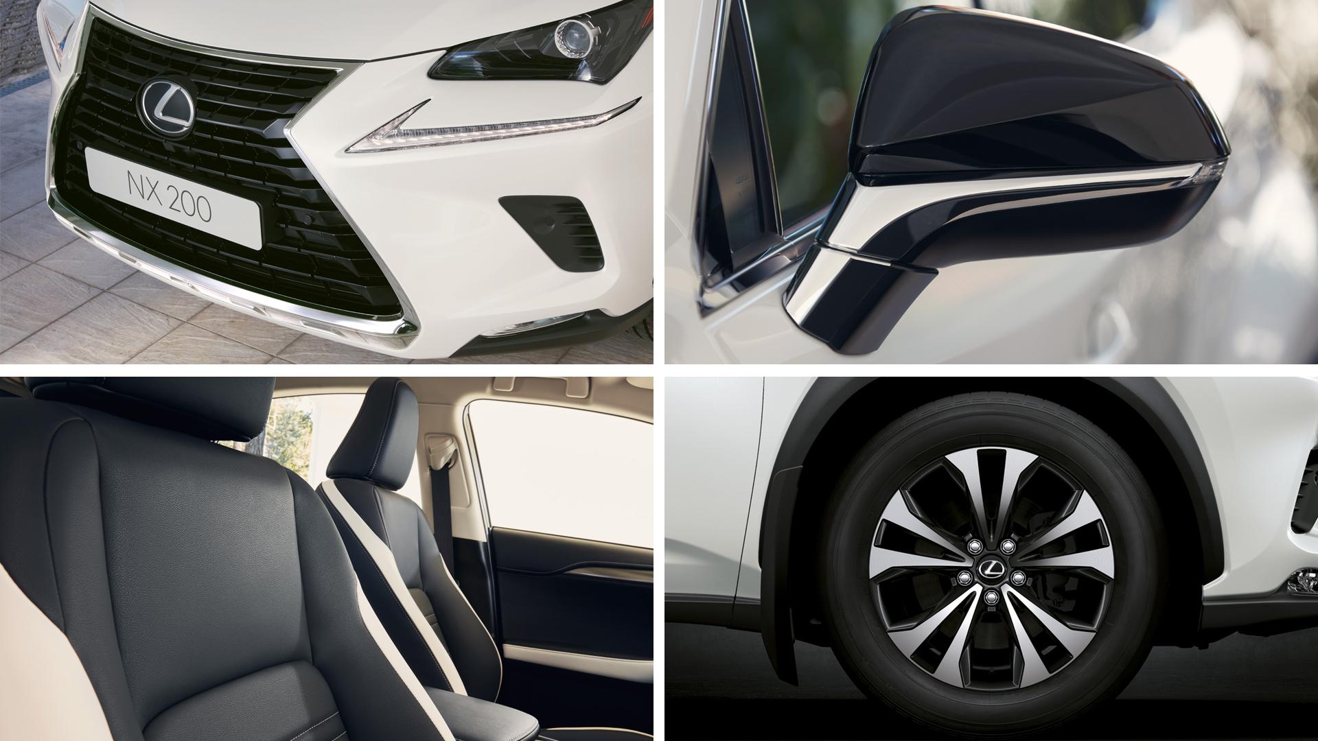 Lexus NX Black Vision доступен для заказа в России