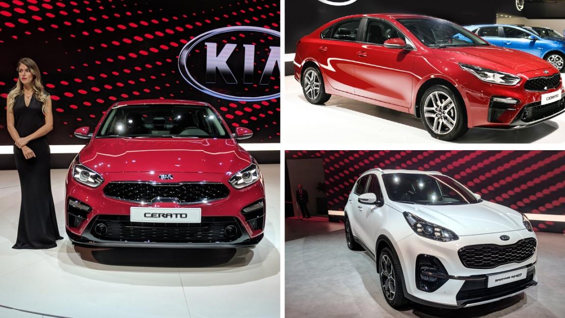 Новый Kia Cerato и обновленный Kia Sportage