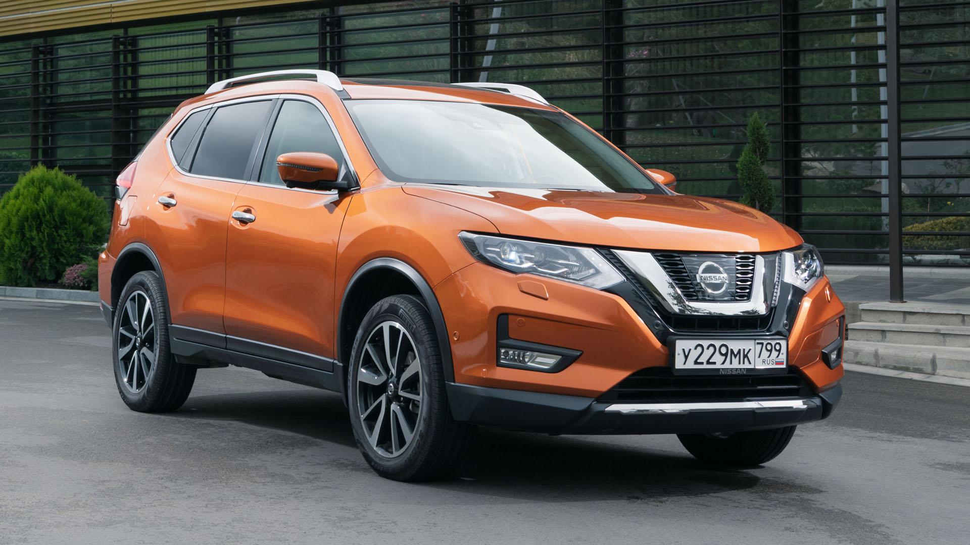 Обновленный Nissan X-Trail