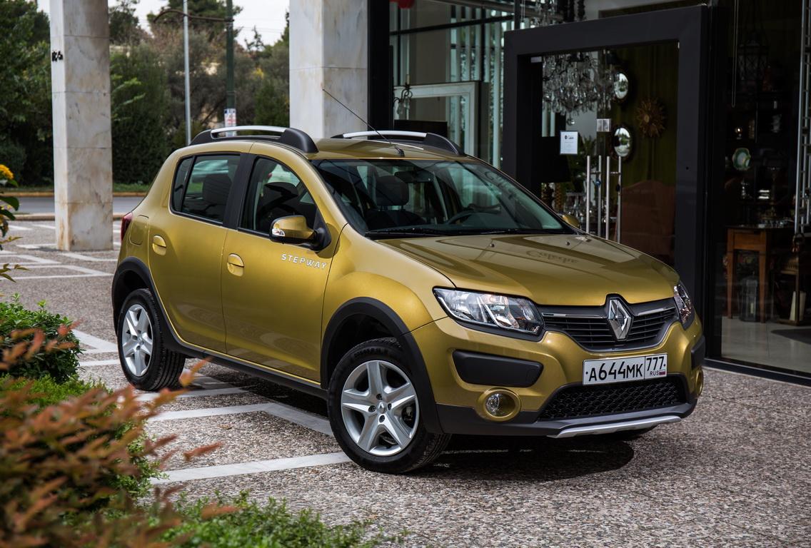 Renault Sandero Stepway: из хетчбеков в кроссоверы