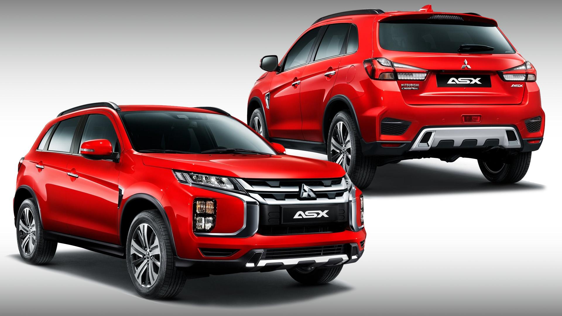 Обновлённый Mitsubishi ASX: версии для России