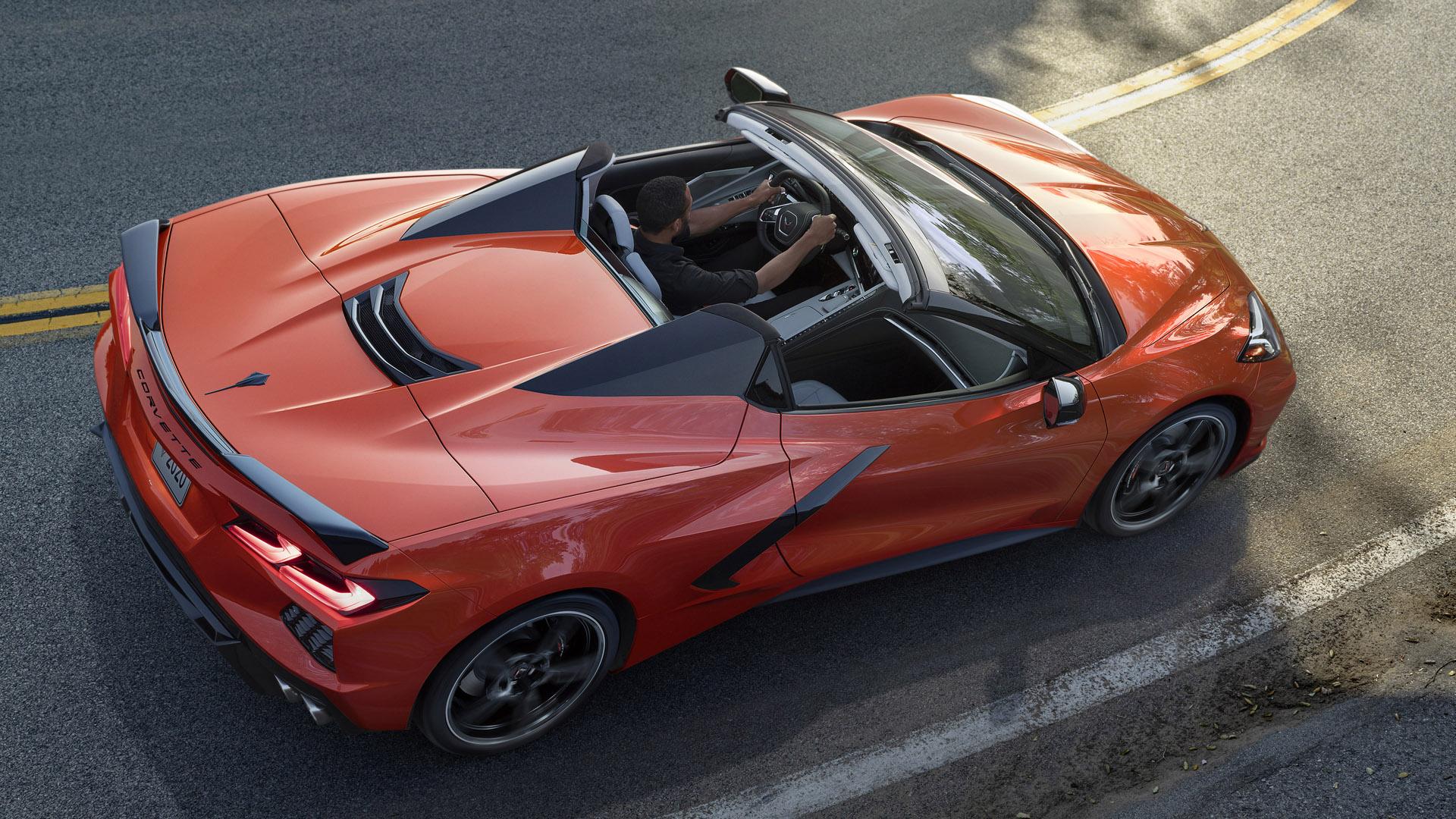 Chevrolet corvette c8 stingray convertible 2020